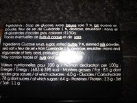 Caramels beurre salé - Ingredients