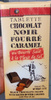 Tablette de chocolat noir fourré caramel liquide au beurre salé, à la fleur de sel - Product