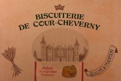 Palets Chocolat blanc Framboise - Produit