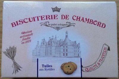 Tuiles aux Myrtilles - Product - fr