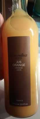 Jus d'orange blonde Alain Milliat - Produit - fr