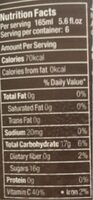 Jus de pomme - Nutrition facts - fr