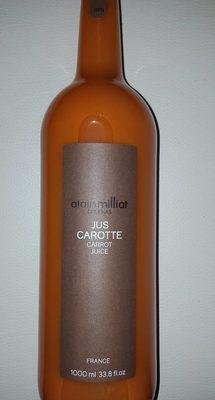 Jus De Carotte - Produit - fr