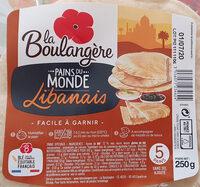 pains libanais - Produit - fr