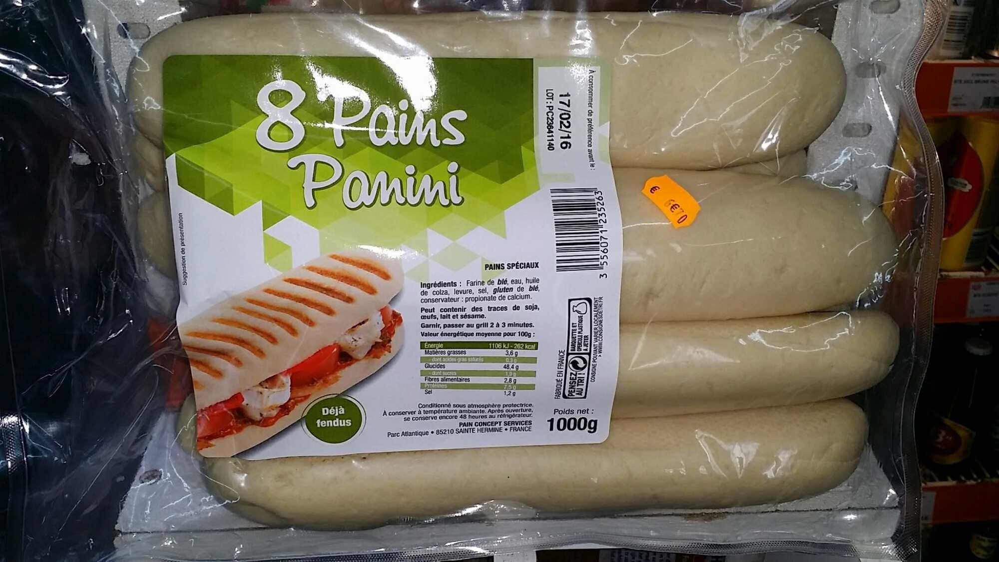 Comment faire du pain a panini