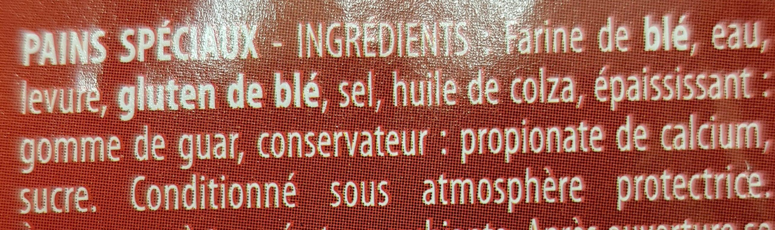 Pain Pita - Ingrediënten