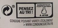 Pain pita - Istruzioni per il riciclaggio e/o informazioni sull'imballaggio - fr