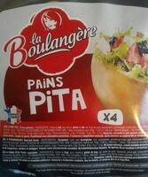 pains pita - Produit - fr