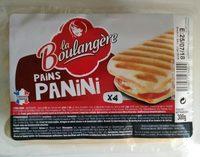 Pain Panini X4 - Produit - fr