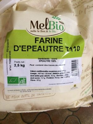 Farine d'epeautre - Product