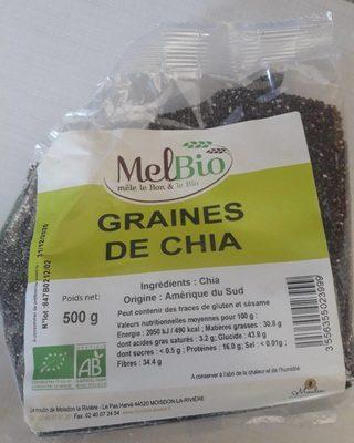 Graines de chia - Produit - fr
