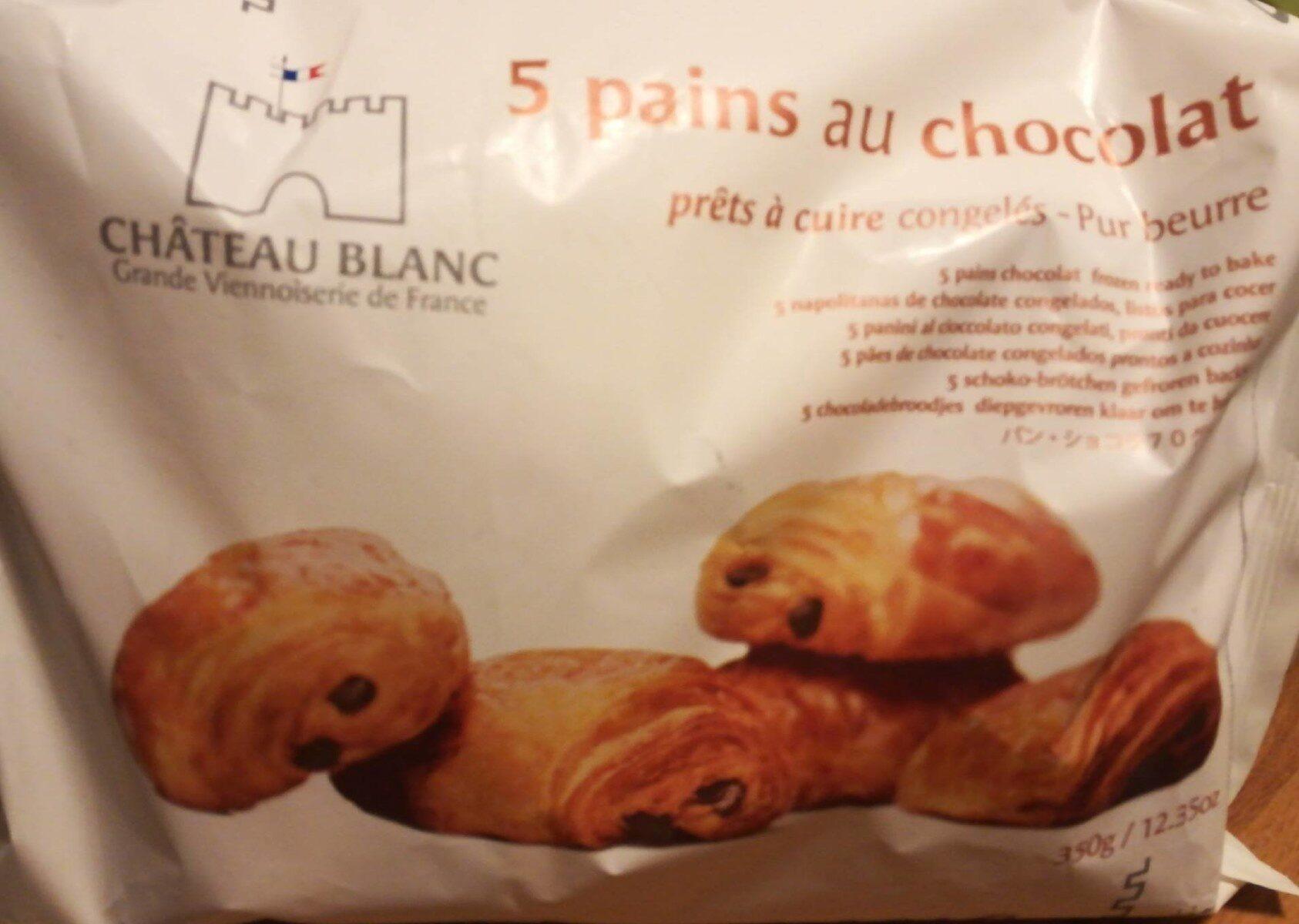 5 Pains au Chocolat Prêts à Cuire Congelés - Product - fr