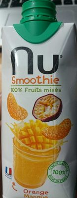 Smoothie - 100% fruits mixés - Orange - Mangue - Product - fr