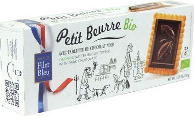 Filet Bleu - Petit Beurre Bio Avec Tablette De Chocolat - Product - fr