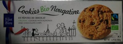 Biscuit Filet-bleu Nougatine Bio - Product - fr