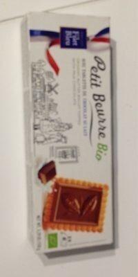 Petit beurre bio avec tablette de chocolat au lait - Product
