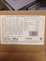Biscuit céréales - Produit - fr