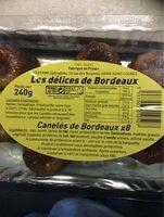Canelés de Bordeaux - Product - fr