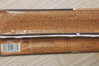 Bâtonnet glace fresco chocolat - Ingrédients