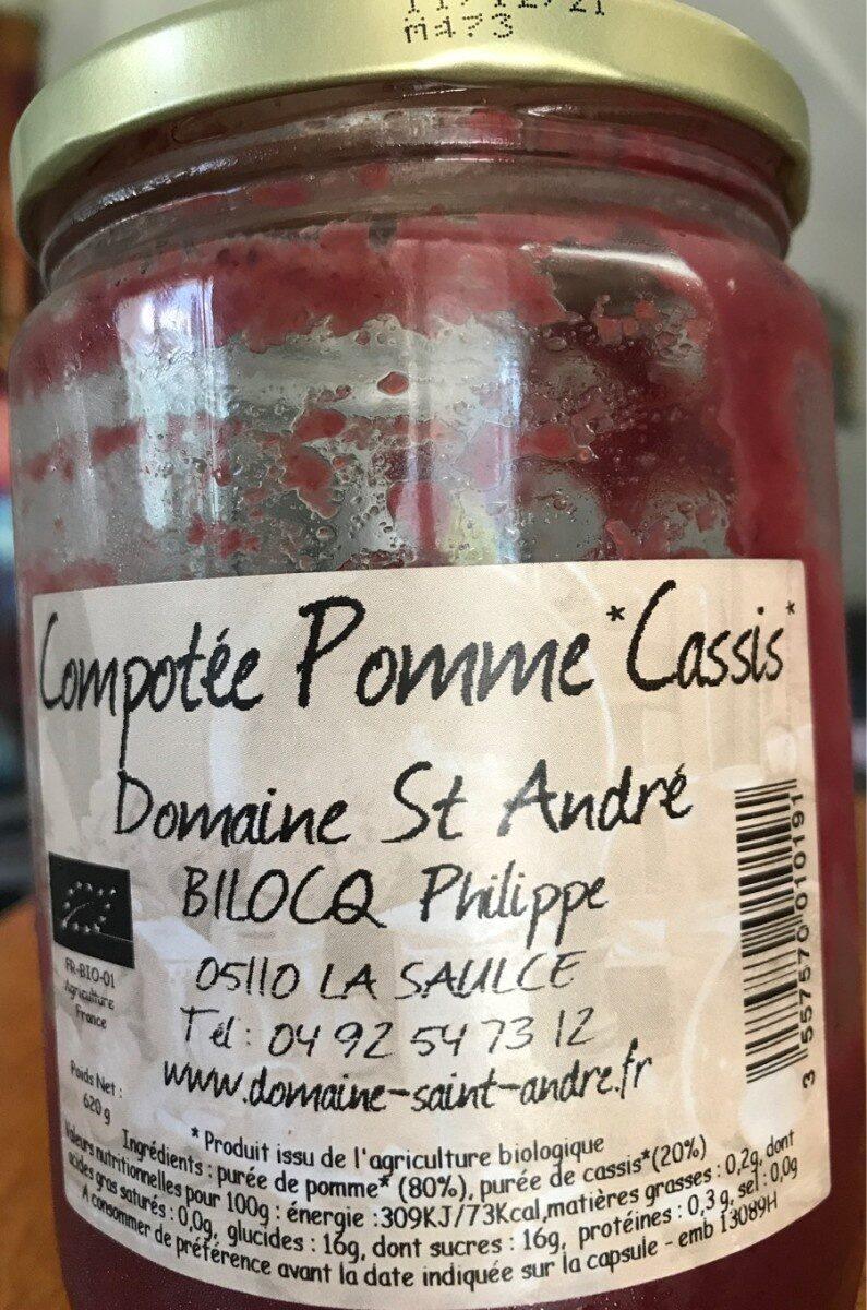 Compotée Pomme Cassis - Prodotto - fr