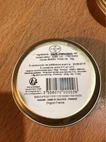 Caviar Frais D'aquitaine 30 Gr, 1 Boîte - Informations nutritionnelles - fr