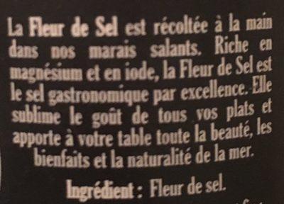 Fleur de sel - Ingredients