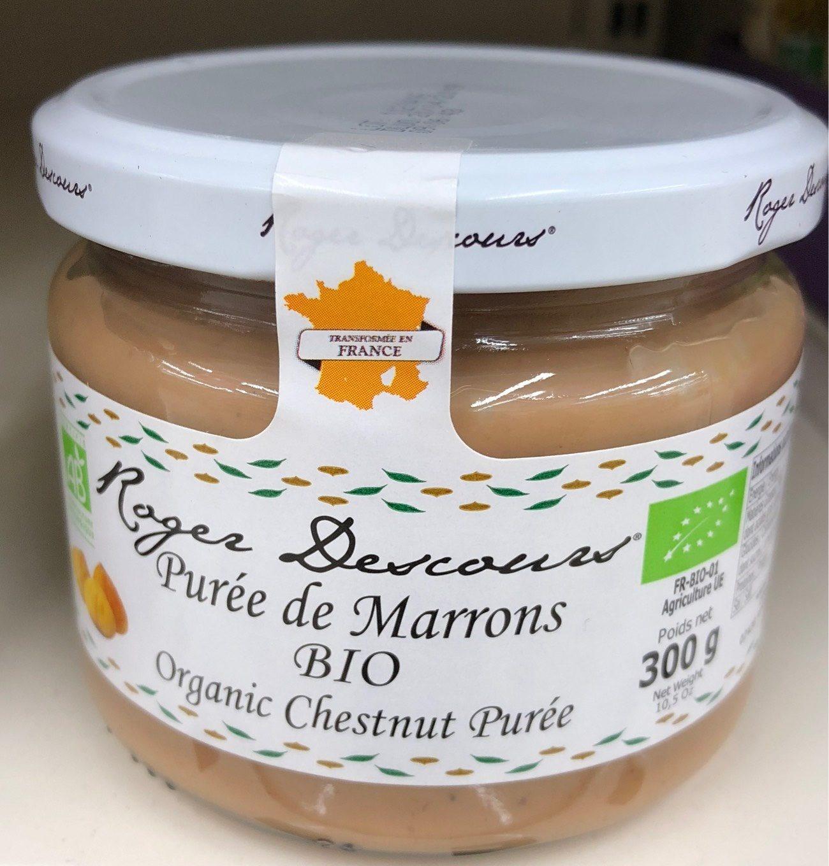 Purée de marrons - Produit - fr