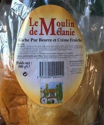 Gâche pur beurre et crème fraîche - Produit - fr