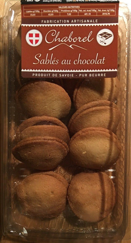 Sablés au chocolat - Product