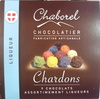 Chardons 9 chocolats assortiment liqueurs - Product