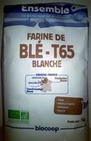Farine de blé T65 blanche - Produit - fr