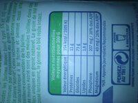 Farine de blé T65 blanche - Informations nutritionnelles - fr