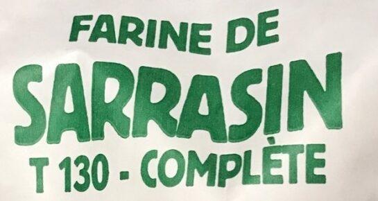 Farine de sarrasin complète - Ingrédients - fr