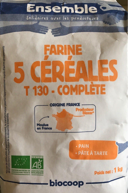 Farine 5 Céréales Type 130 Complète - Product - fr