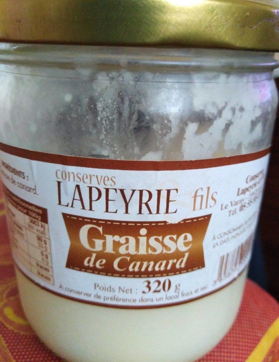 Graisse de canard - Product - fr