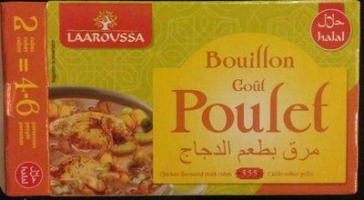 Bouillon goût poulet - Produit - fr