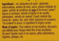 Bouillon goût poulet - Ingrédients - fr