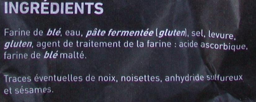 Pain Coupiaguette - Ingrédients - fr