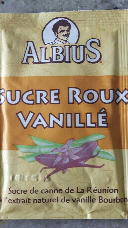 sucre roux vanillé - Produit