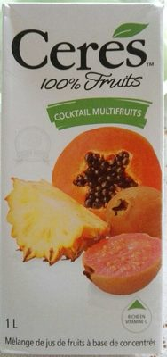Cocktail Multifruits - Product - fr