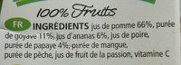 Cocktail Multifruits - Ingrediënten - fr