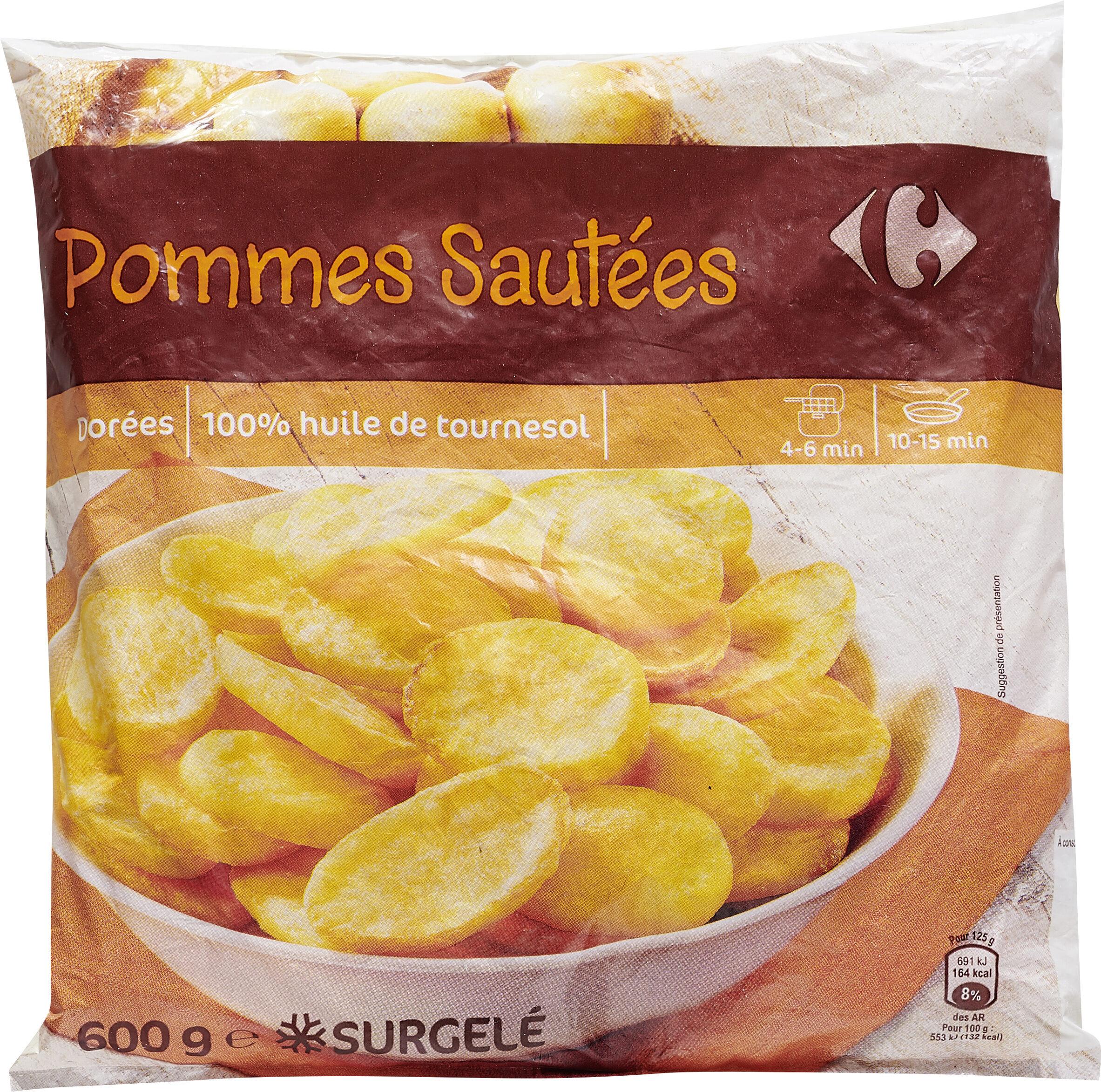 Pommes Sautées Carrefour 600 G