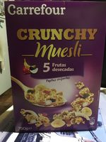 Crunchy5 frutas desecadas - Producte