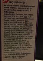 Crunchy5 frutas desecadas - Ingredients