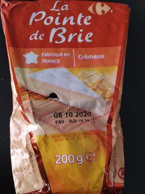 La pointe de brie - Produit - fr