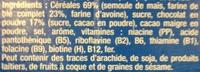 Croc ball - Ingrediënten