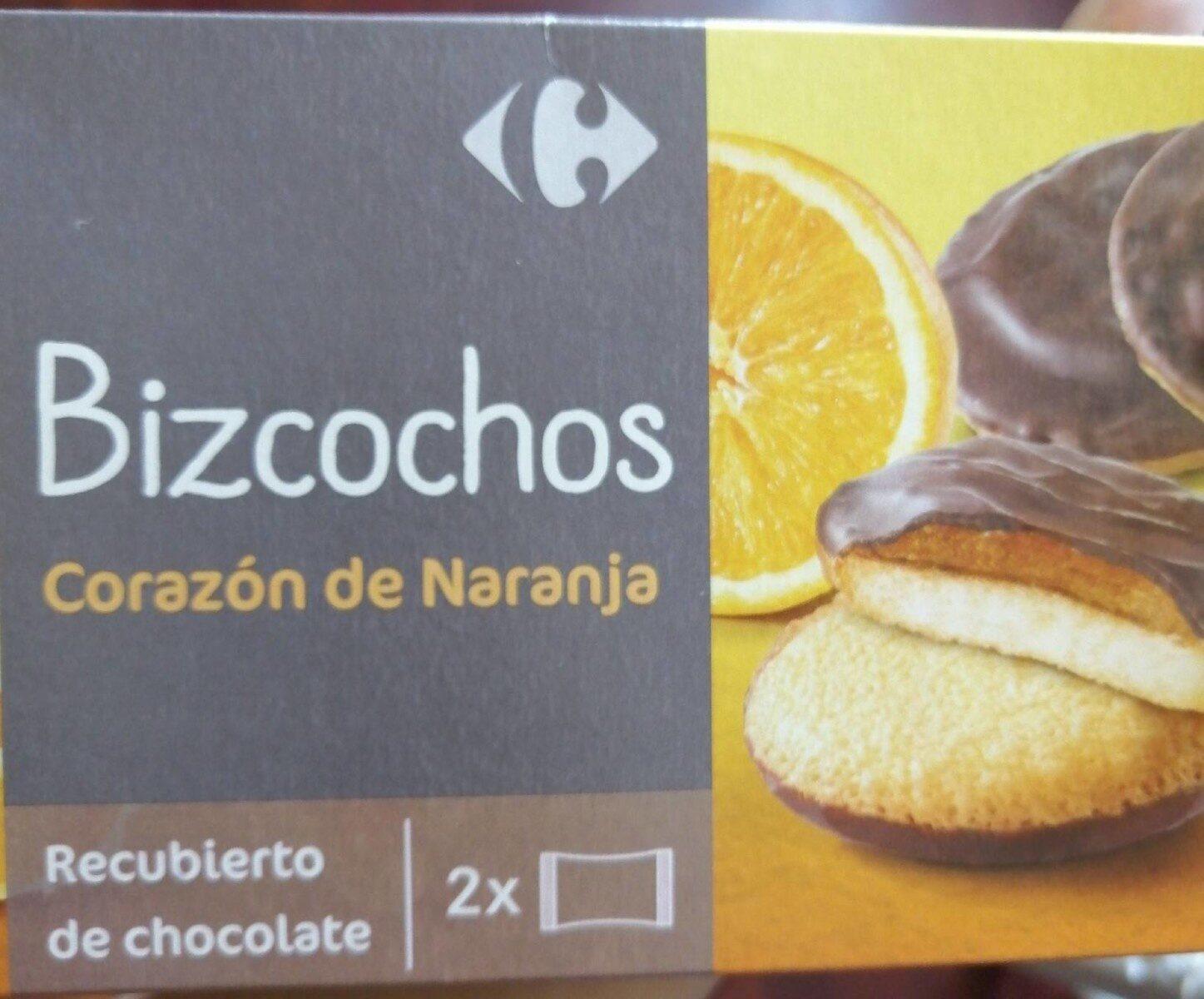 Bizcochos Corazón de Naranja - Product - es