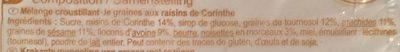 Déclic croustillant aux graines - Ingredients - fr