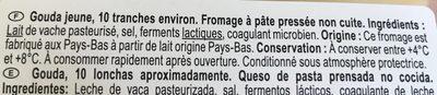 Gouda - Ingredients - fr