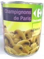 champignons de Paris émincés - Product - fr